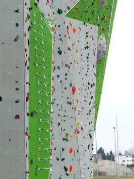 climbing wall outdoor climbing hall