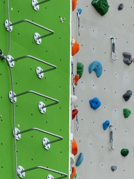 climbing wall step ladder step treads