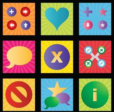 Clip Art Vector Icons