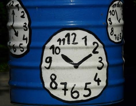 clock time of clock face
