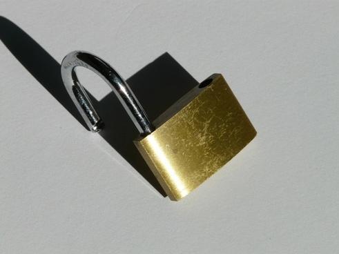 closed padlock sure