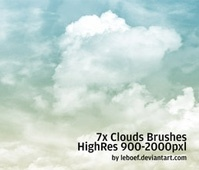 Cloud Brushes HiRes Nr.1 of 5