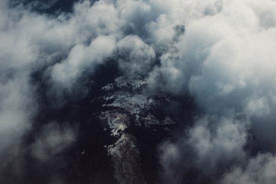 cloud cloudy dark dramatic eruption fog landscape
