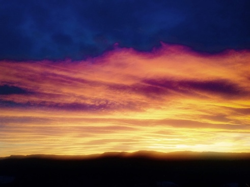 cloud color dawn dusk evening landscape light
