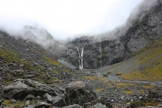 cloud environment fog geology hiking landscape mist
