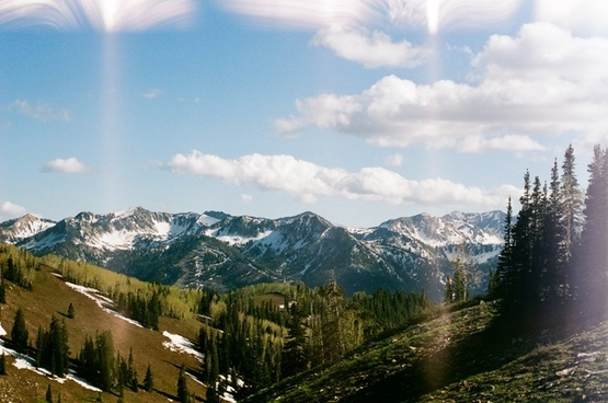 cloud forest hill landscape majestic mountain nature