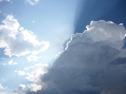 cloud sky sun