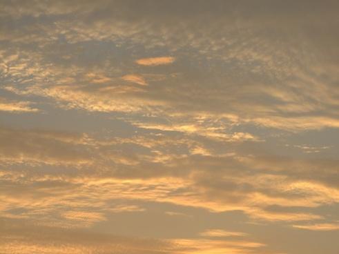 cloud sky sunset