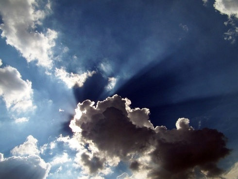 Sun And Clouds Wallpaper Free Stock Photos Download 11 937