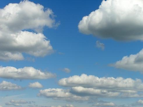 clouds cloud blue