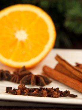 clove and orange