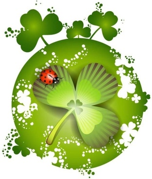 clover beautiful background 03 vector