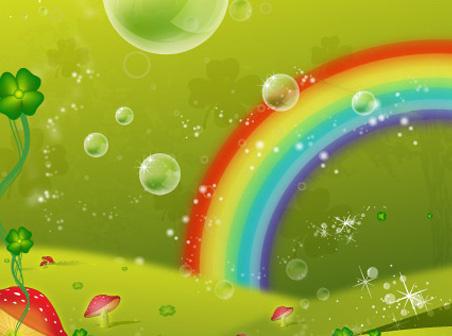 clover leaf rainbow valley