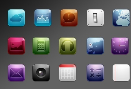 CMT iPhone icons icons pack