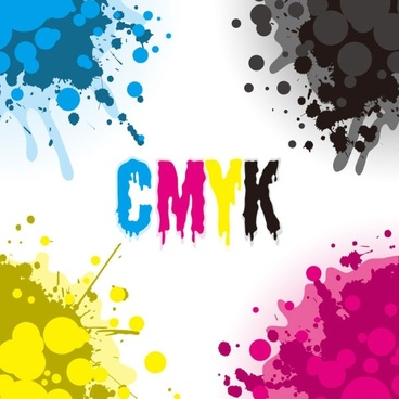 cmyk color 01 vector