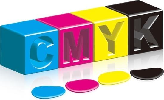 cmyk color ink vector