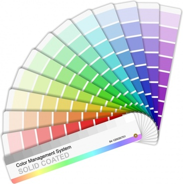 paint code stickers templates colorful modern design