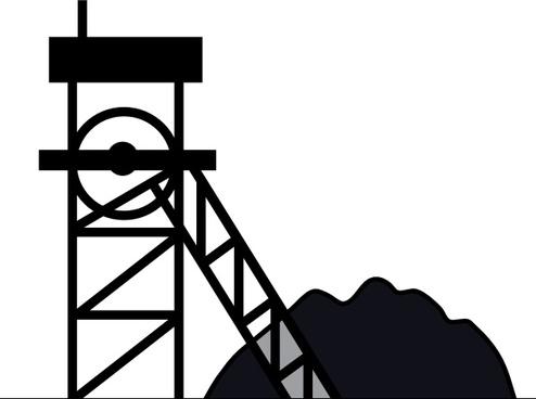 Coal Mine clip art