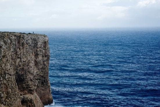 coast coastline holiday horizon horizontal idyllic