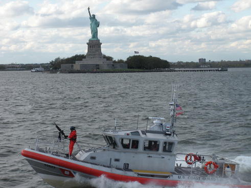 coast guard amp statue of liberty