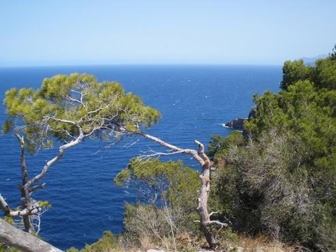 coast nature mediterranean