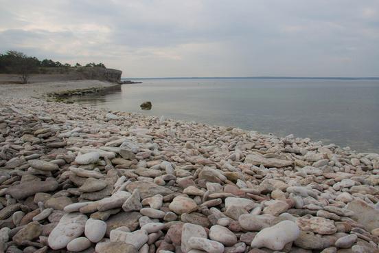 coast of rocks