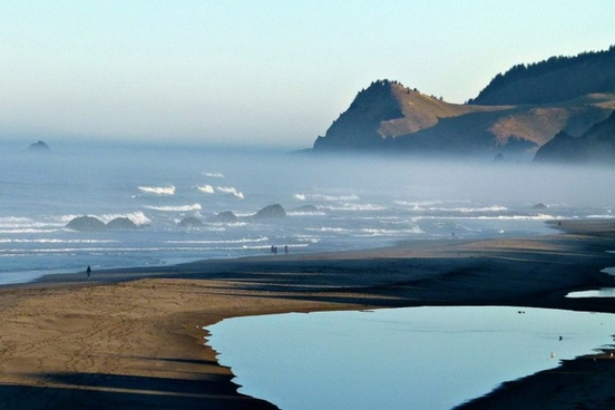 coast pacific shoreline