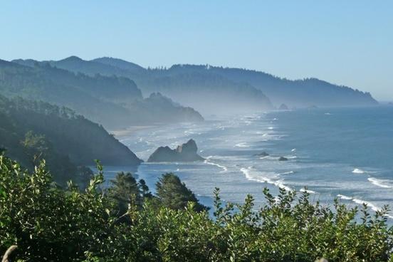 coast shoreline oregon