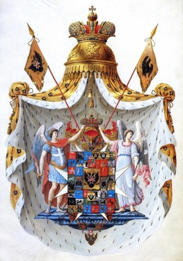 coat of arms russia russian empire