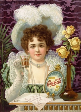 coca cola advertising 1890