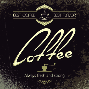 Vector coffee background free vector download (51,468 Free