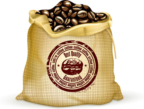 coffee bean bag
