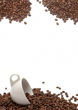 coffee beans coffee cup highdefinition picture 3