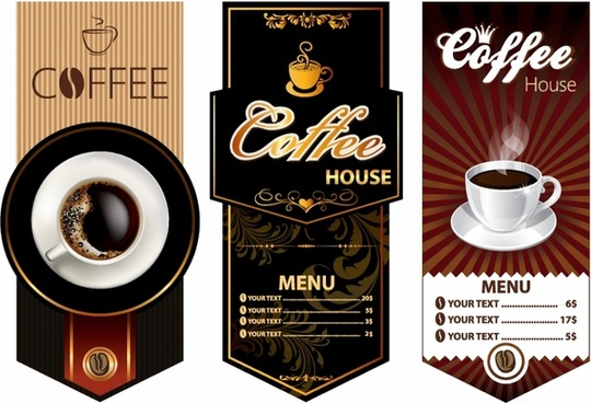 Coffee design templates
