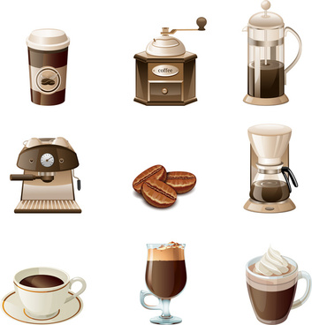 coffee equipment collection