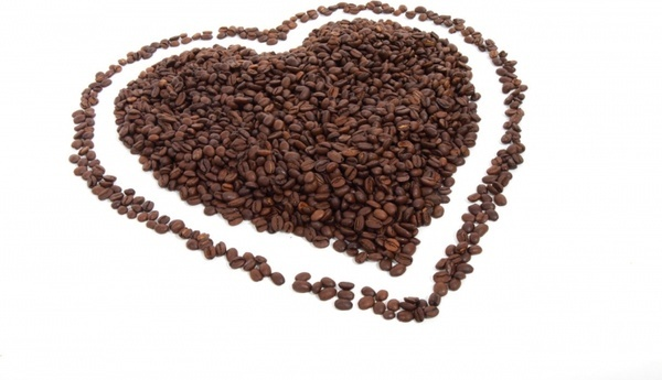 coffee heart