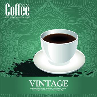 coffee house menu cover design