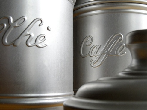 coffee jars coffee beans