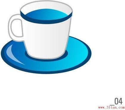 coffee mugs cups vector