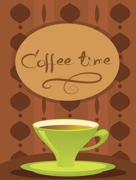 coffee time vector 1