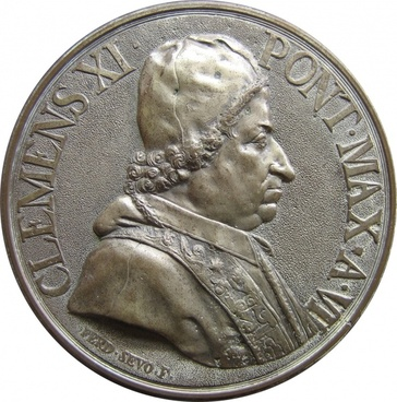 coin embossing pope