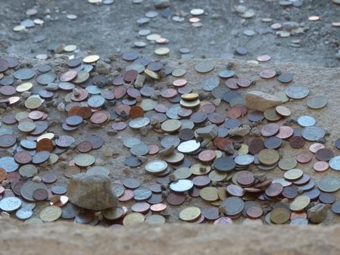 coins money monetary donation