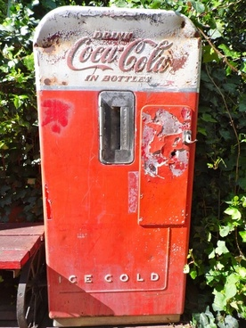 coke machine coca cola old