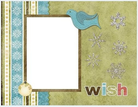 collage style cute photo frame 12