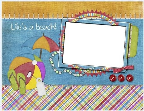 collage style cute photo frame 13