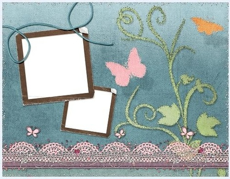 collage style cute photo frame 14