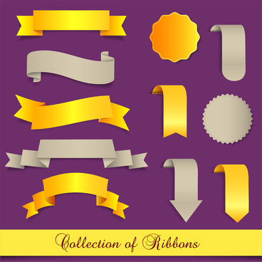collection of ribbon