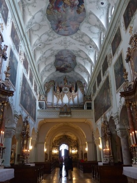 collegiate church of st peter salzburg roman catholic