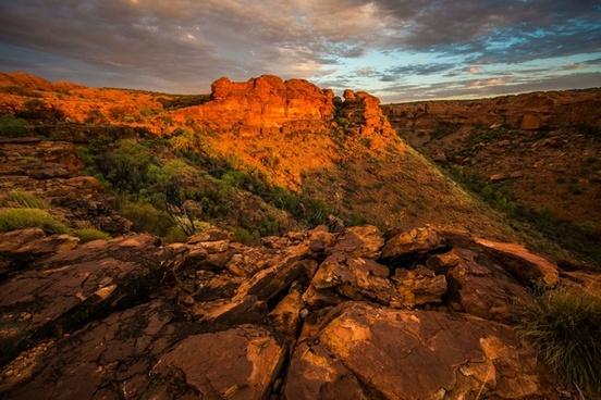 colonial daytime desert desolate evening geology