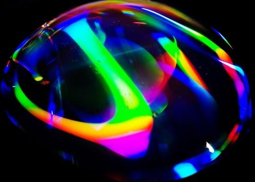 color drop of water